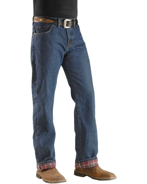 Dickies Flannel Lined Work Jeans, Denim, hi-res