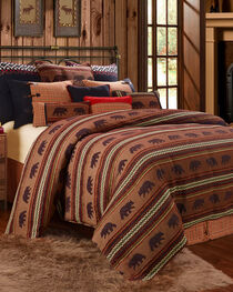 HiEnd Accents Bayfield Bear Full Duvet, , hi-res