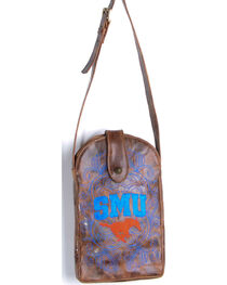 Gameday Boots Southern Methodist University Crossbody Bag, , hi-res