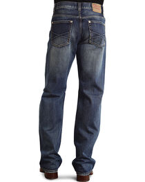 "Stetson Modern Fit Embossed ""X"" Stitched Jeans, , hi-res"