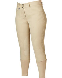Dublin Women's Active Shapely Euro Seat Front-Zip Breeches, , hi-res