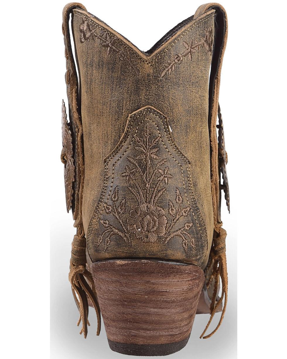 Liberty Black Women's Tan Wrangler Boots - Pointed Toe , Tan, hi-res