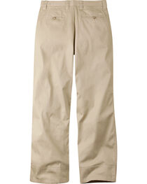 Mountain Khakis Men's Tan Lake Lodge Relaxed Fit Twill Pants, , hi-res
