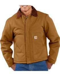 Carhartt Men's Duck Traditional Jacket, , hi-res