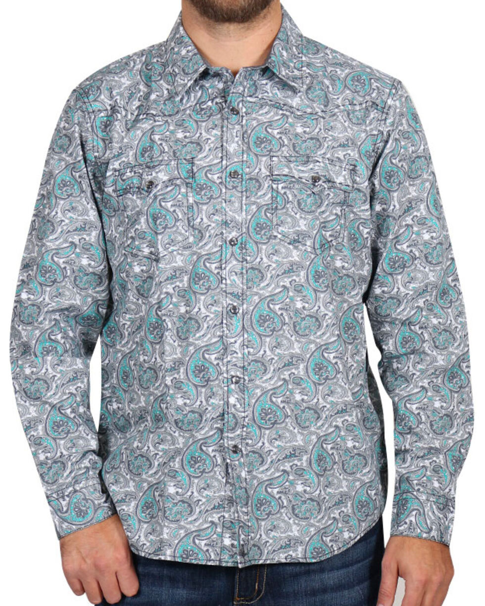 Cody James Men's Rodeo Paisley Long Sleeve Shirt, , hi-res