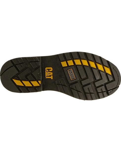 """CAT Men's Traction 6"""" Steel Toe Work Boots, Beige, hi-res"""