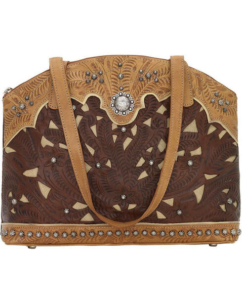 American West Women's Annie's Conceal Carry Half Moon Purse , , hi-res