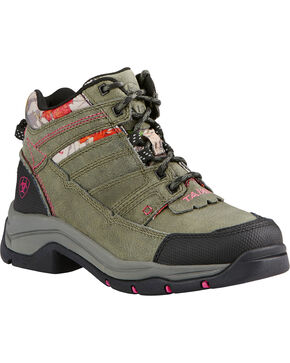 Ariat Women's Terrain Pro Outdoor Boots, Olive, hi-res