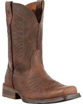 Ariat Men's Rambler Phoenix Western Boots, Distressed, hi-res