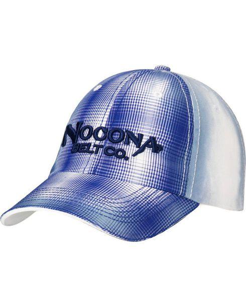 Nocona Plaid Front Cap, , hi-res