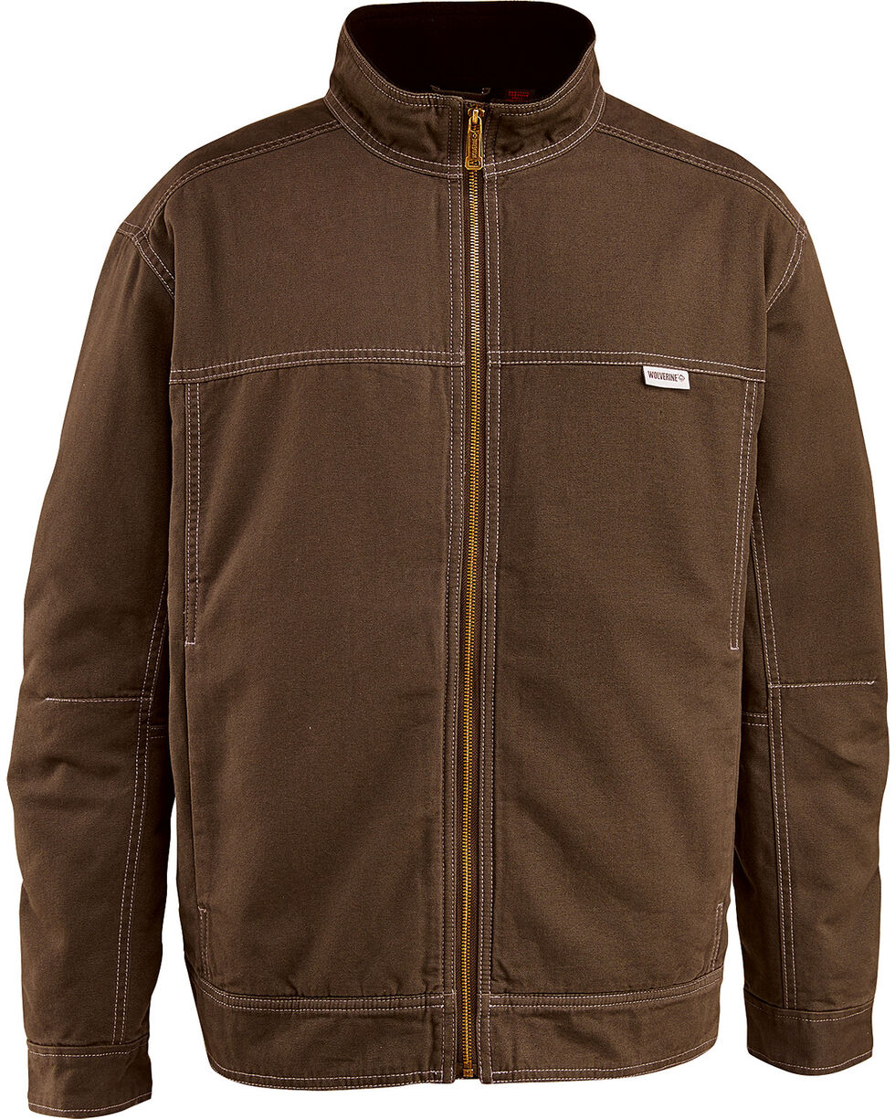 Wolverine Men's Porter Jacket, Dark Brown, hi-res