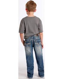 Rock & Roll Cowboy Boys' Faded Boot Cut Jeans, , hi-res