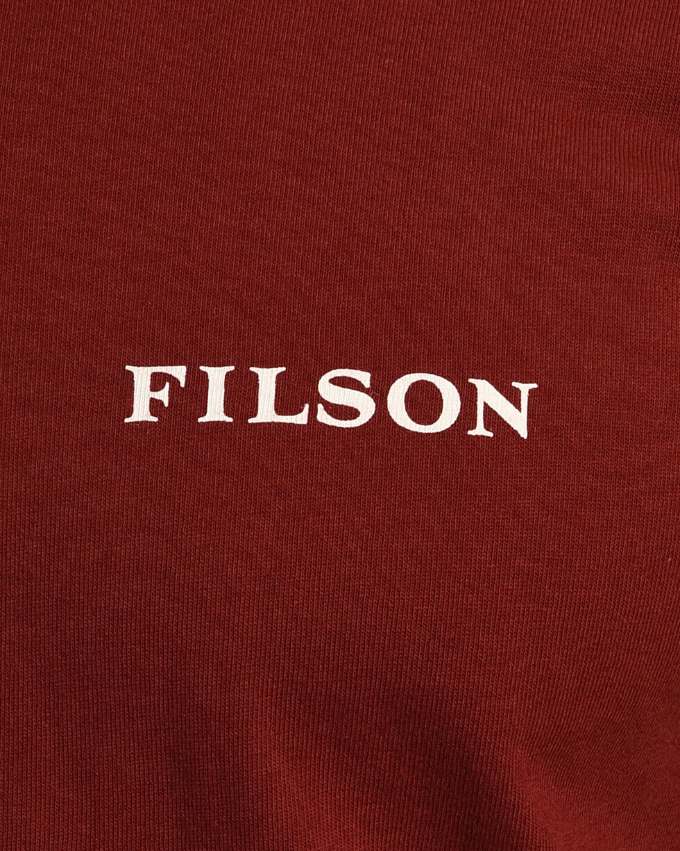 Filson Men's Otter Green Outfitter Graphic T-Shirt , Wine, hi-res