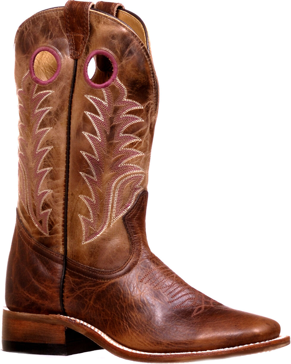 Boulet Women's Challenger Damiana Moka Dublin Taupe Cowgirl Boots - Square Toe, , hi-res