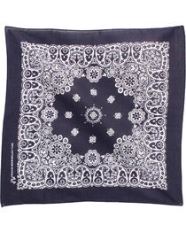 M&F Western Navy Western Fashion Bandanna , , hi-res
