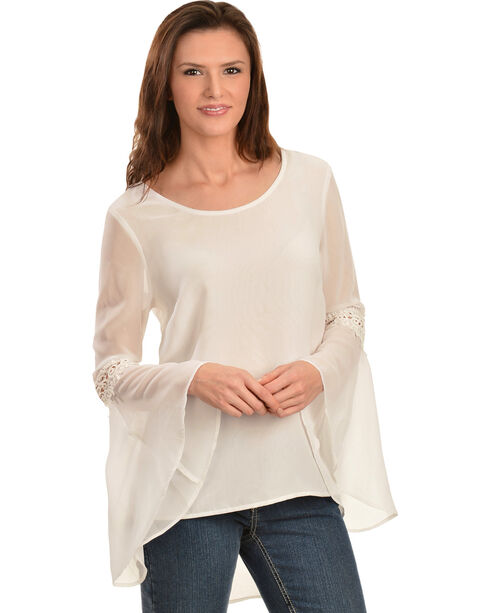 Truly 4 You Ivory High-Low Top, Ivory, hi-res