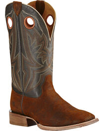 Ariat Men's Circuit Hazer Wide Square Toe Western Boots, , hi-res