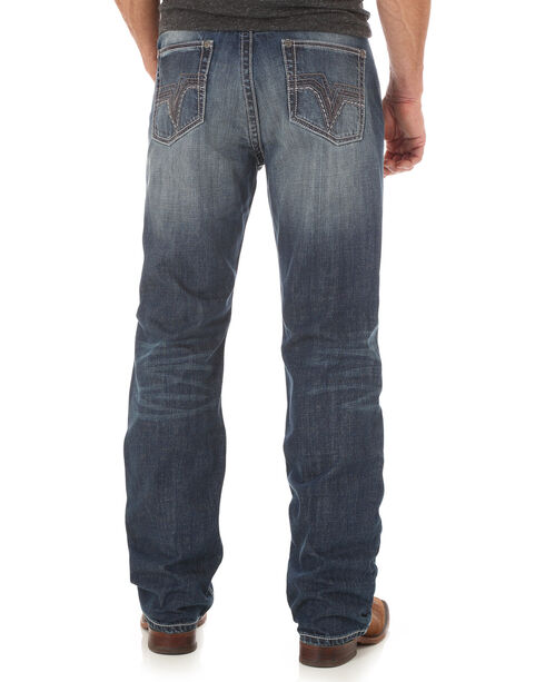 Wrangler 20X Men's 33 Limited Edition Relaxed Jeans - Straight Leg - Long, Indigo, hi-res