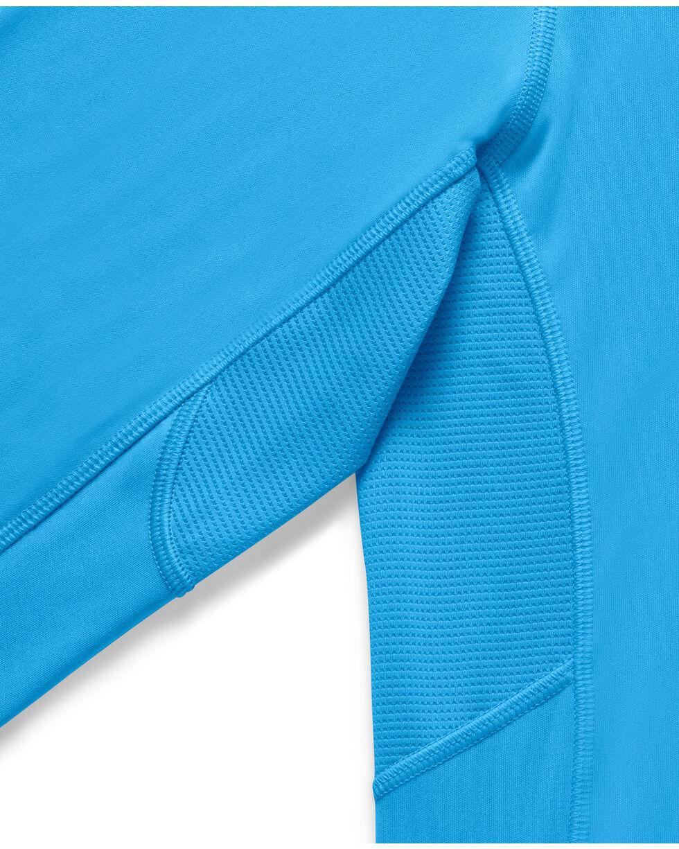 Under Armour Fish Hunter Tech Long Sleeve Shirt, Light Blue, hi-res