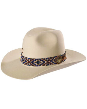 Charlie 1 Horse Women's Ivory Old Hag 5X Felt Hat , Ivory, hi-res