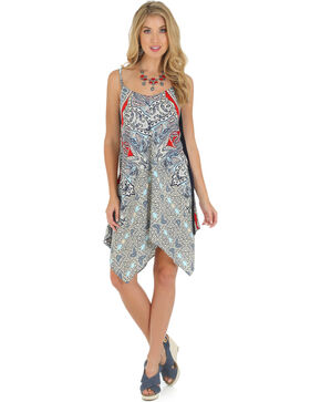 Wrangler Women's Strappy Maxi Dress, Blue, hi-res
