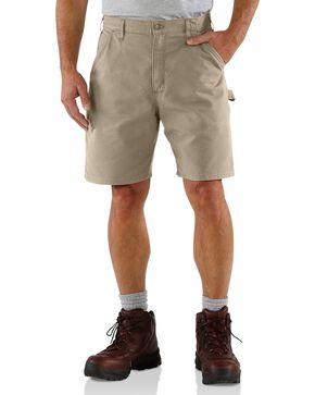 Carhartt Men's Work Shorts, Tan, hi-res