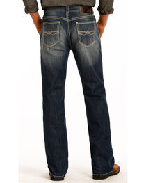 Rock & Roll Cowboy Men's Double Barrel Relaxed Straight Leg Jeans, , hi-res