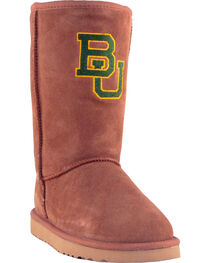 Gameday Boots Women's Baylor University Lambskin Boots, , hi-res