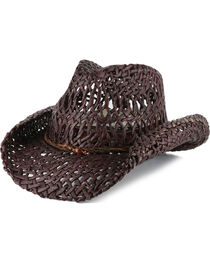 Shyanne®  Women's Ford Loose Weave Straw Hat, , hi-res