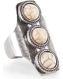Shyanne® Women's Trio Concho Ring , , hi-res