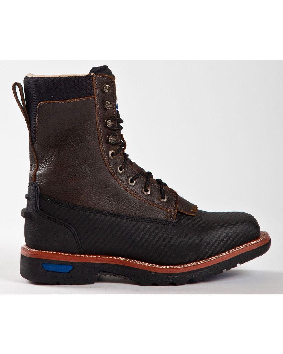 Cinch Men's Rod Patrick WRX Grader Work Boots, Black, hi-res