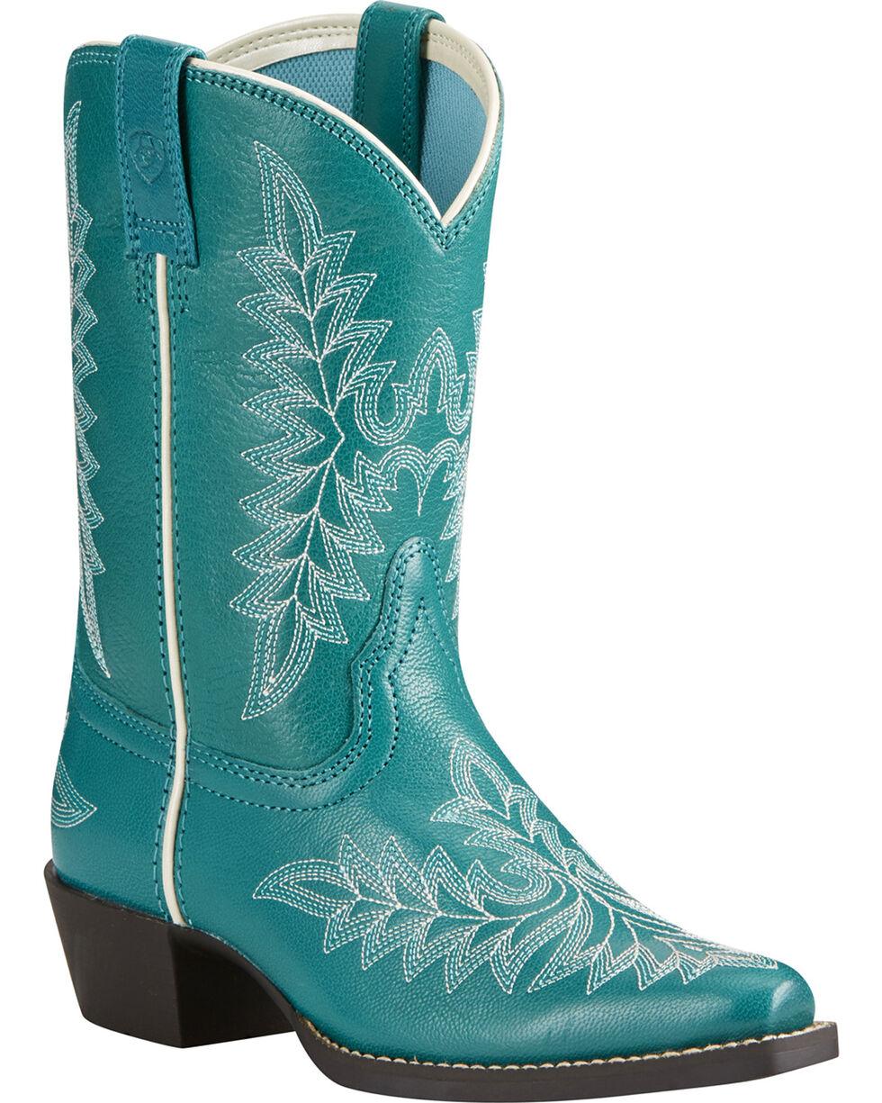 Ariat Girls' Brooklyn Western Boots, , hi-res