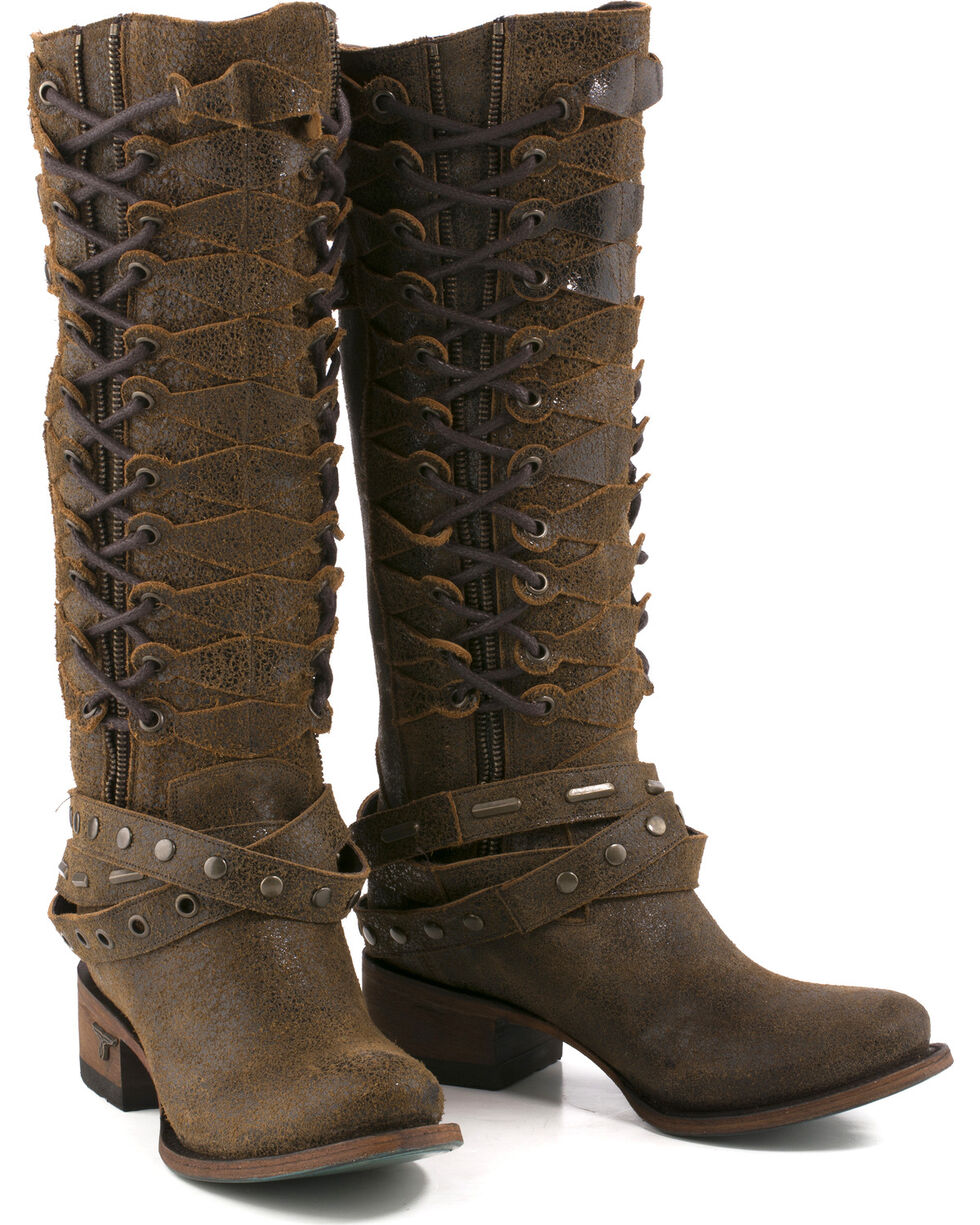 Lane Women's Ghillegan Leather Western Boots, , hi-res