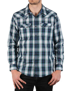 Cody James Men's Rockdale Long Sleeve Shirt - Big & Tall, Blue, hi-res