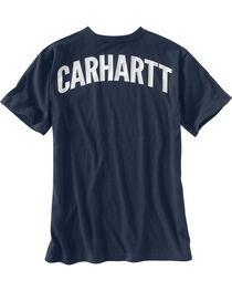 Carhartt Men's Maddock Block Lettering Graphic Short Sleeve T-Shirt, , hi-res