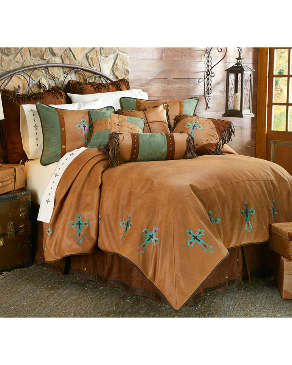 HiEnd Accents Las Cruces II Comforter Set - Full Size, Multi, hi-res