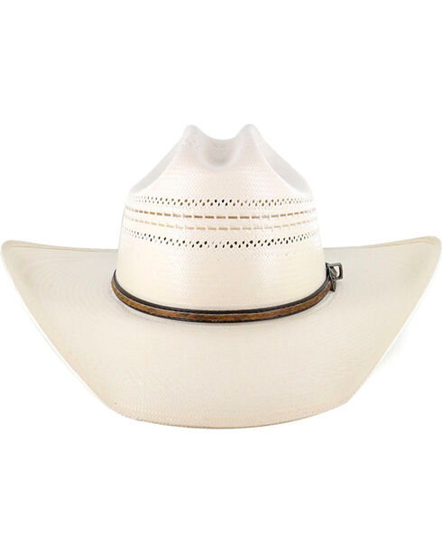 Larry Mahan by Milano Hat Co.10x Straw Hat , Natural, hi-res
