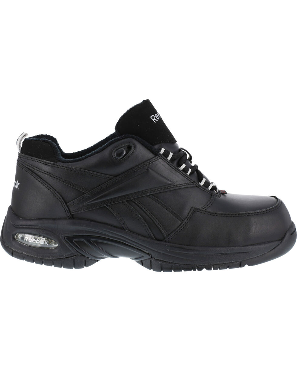 Reebok Men's Tyak High Performance Hiker Work Boots - Composite Toe, Black, hi-res
