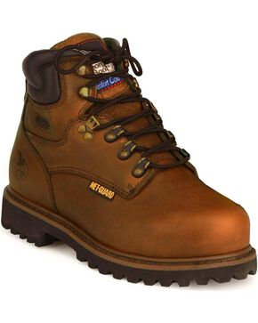 "Georgia Men's Internal Metatarsal Heritage 6"" Work Boots, Briar, hi-res"