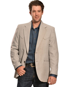 Circle S Men's Carson City Sport Coat, Ash, hi-res