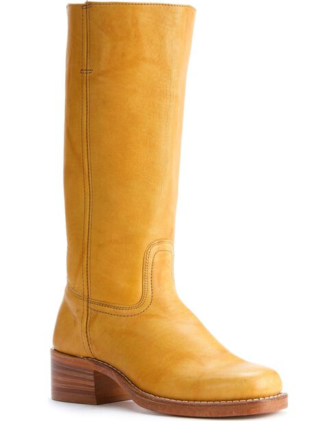 Frye Men's Campus 14L Boots - Square Toe, Banana, hi-res