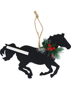 BB Ranch® Chalkboard Horse Ornament , No Color, hi-res