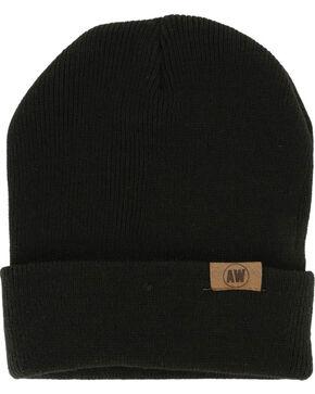 American Worker Knit Beanie, Black, hi-res