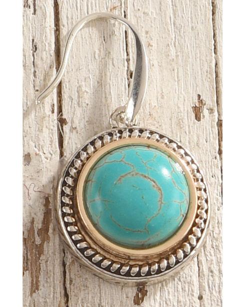 Shyanne Women's Turquoise Gemstone Earrings, Silver, hi-res