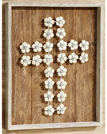 Giftcraft Cross Wood Wall Plaque , , hi-res