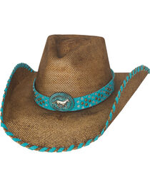 Bullhide Anything Goes Straw Cowboy Hat, , hi-res