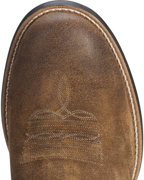Ariat Men's Brown Sport Patriot Western Boots - Round Toe , Brown, hi-res