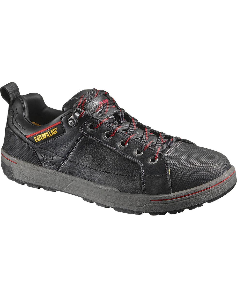 CAT Men's Brode Steel Toe Work Shoes, Black, hi-res