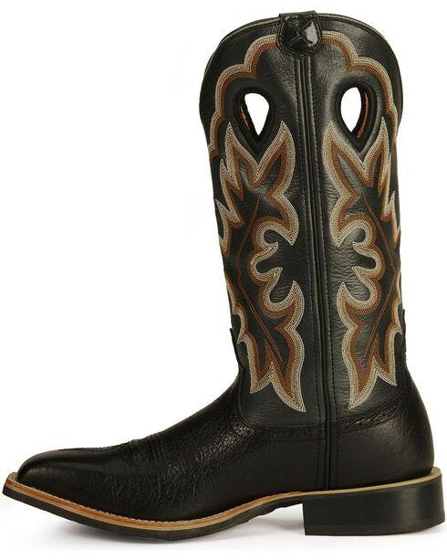 Twisted X Men's Saddle Western Boots, Black, hi-res