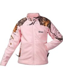 Rocky Women's Realtree Camo Fleece Jacket, Pink, hi-res